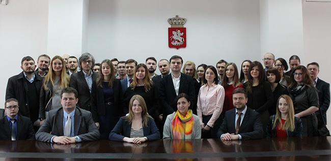 Встреча участников программы «Децентрализованное широкое принятие решений, электронное правительство, приватизация» с представителями Министерства сельского хозяйства Грузии