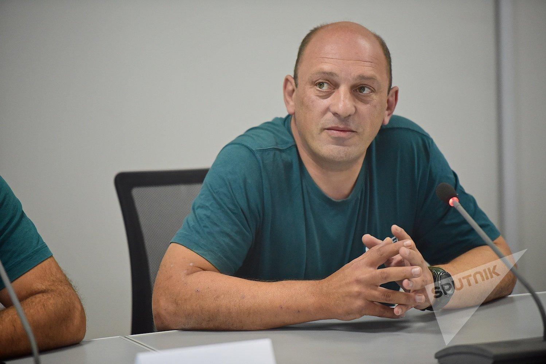 Александр Апхаидзе. Видеомост Тбилиси-Минск по туризму