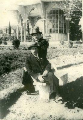 Янка Купала и Якуб Колос . Цхалтубо, 1939