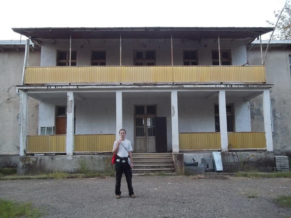 Бывший отель в Цхалтубо, где останавливался Янка Купала и другие знаменитости